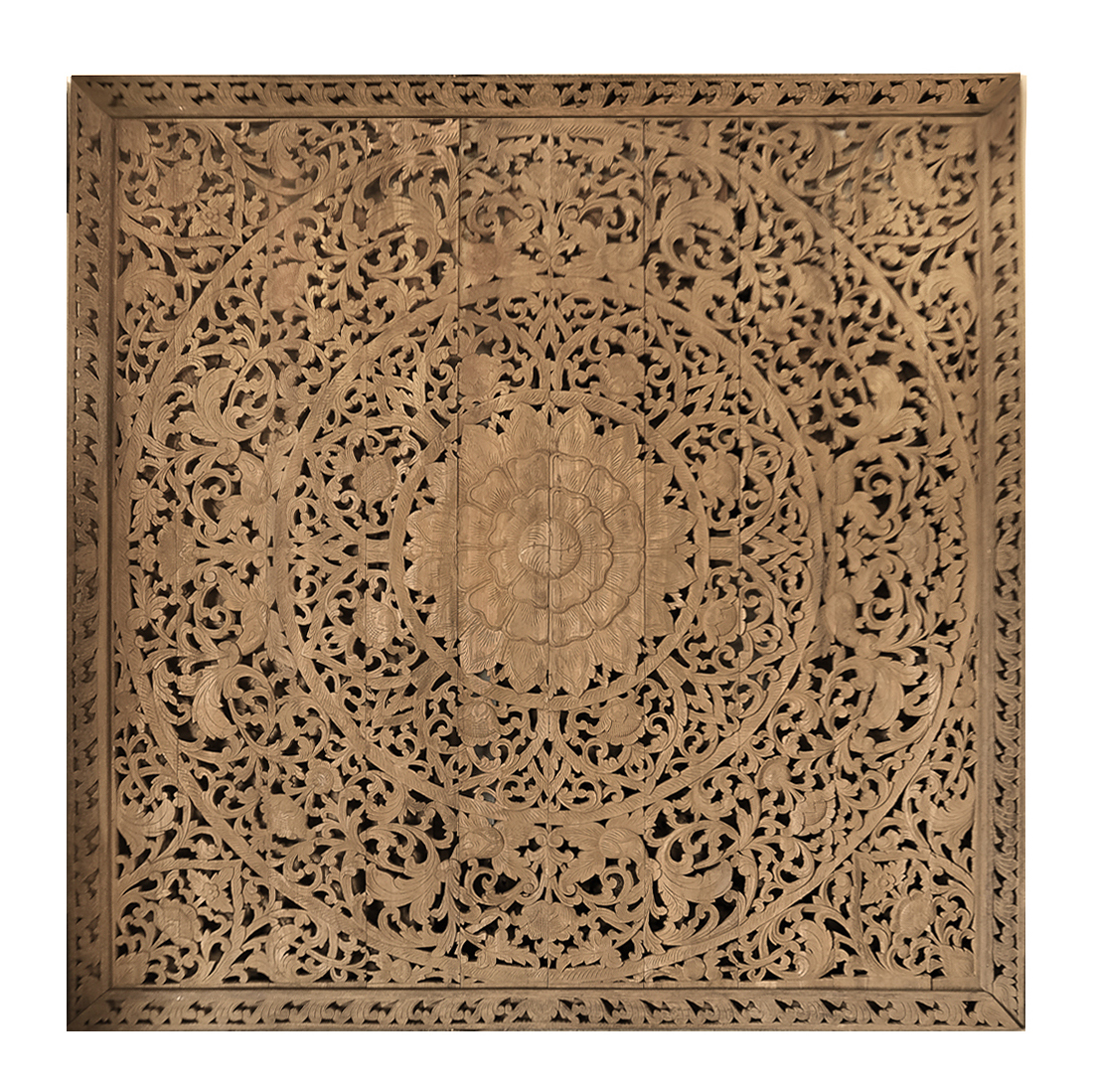 Attractive Wooden Wall Art Panels Part - 10: Siam Sawadee