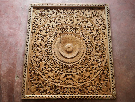 Carved-Wood-Wall-Panel-Reclaim-Teak