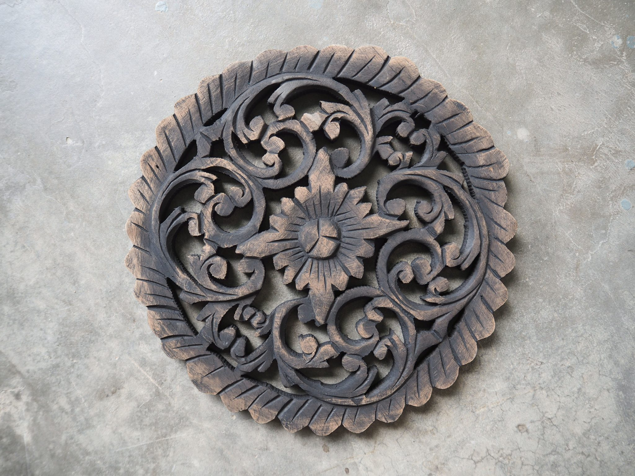 Thai Decorative Wall Art Panel