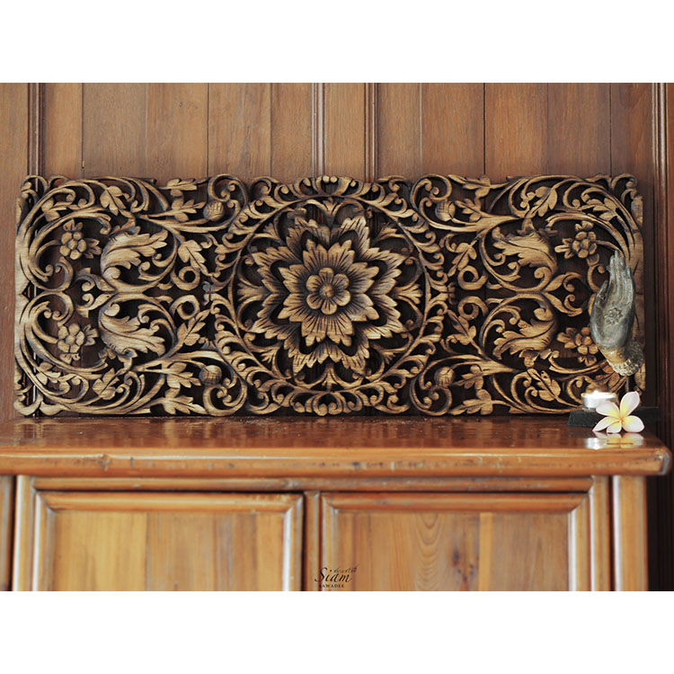 Carved wood wall decor roselawnlutheran - Wooden panel art ...